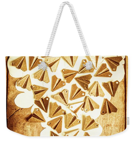 Travelling Love Weekender Tote Bag