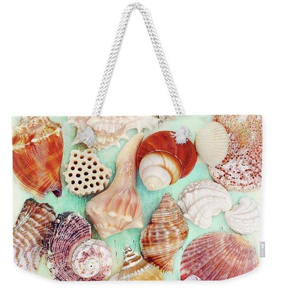 Treasures From The Sea  Weekender Tote Bag