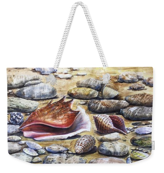 Treasures Of The Sea Weekender Tote Bag