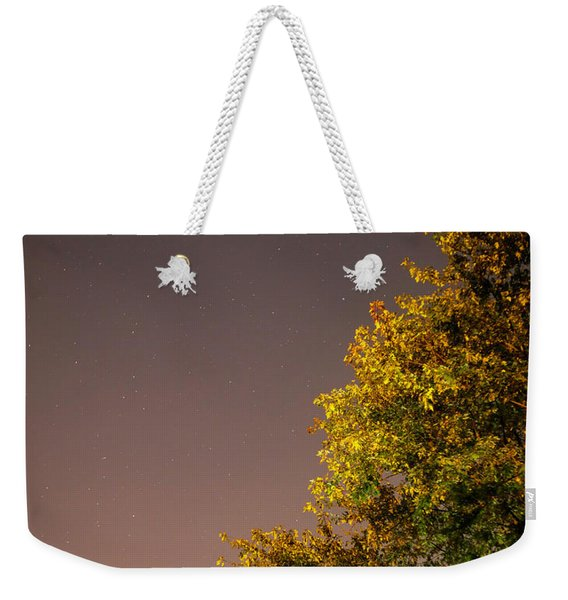 Tree And Stars Weekender Tote Bag