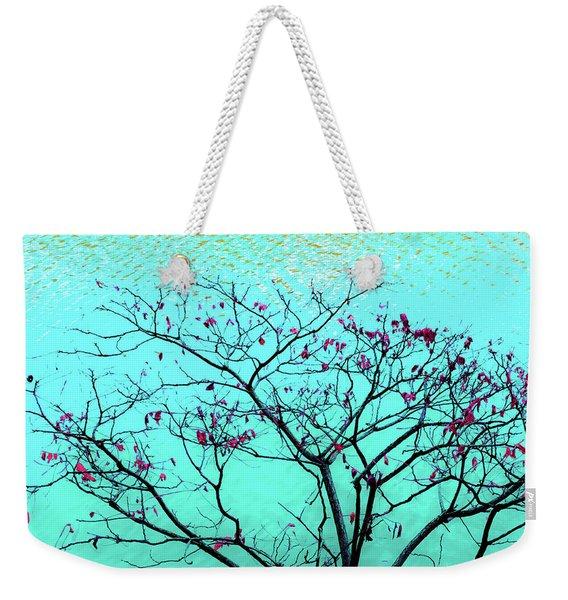 Tree And Water 1 Weekender Tote Bag