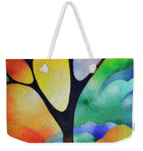 Tree Of Joy Weekender Tote Bag