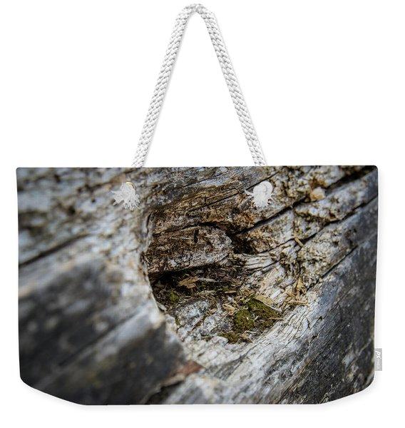 Tree Wood Weekender Tote Bag
