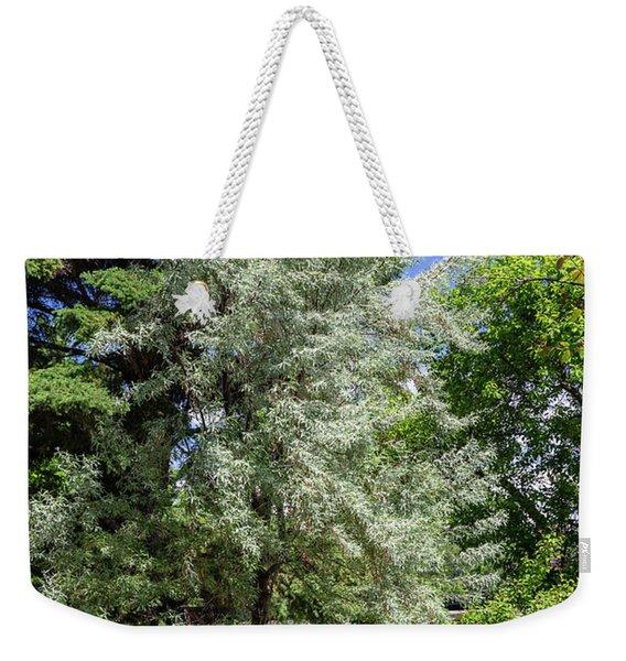 Trees In The Garden Weekender Tote Bag