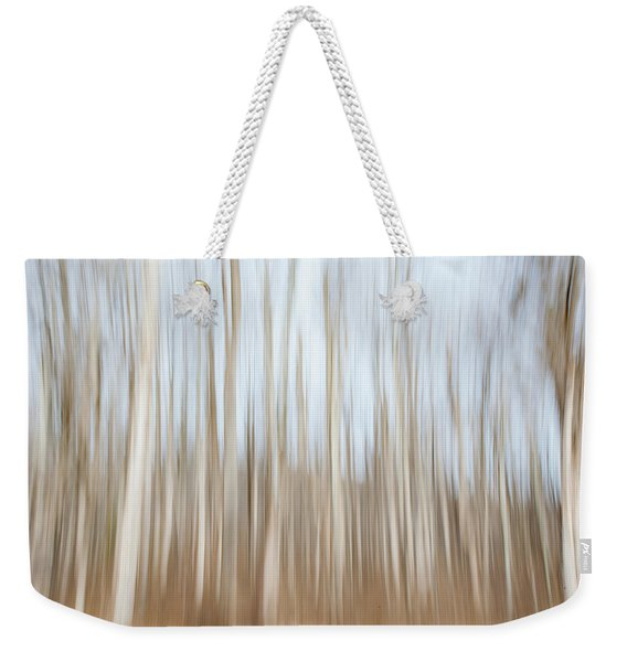 Trees On The Move Weekender Tote Bag
