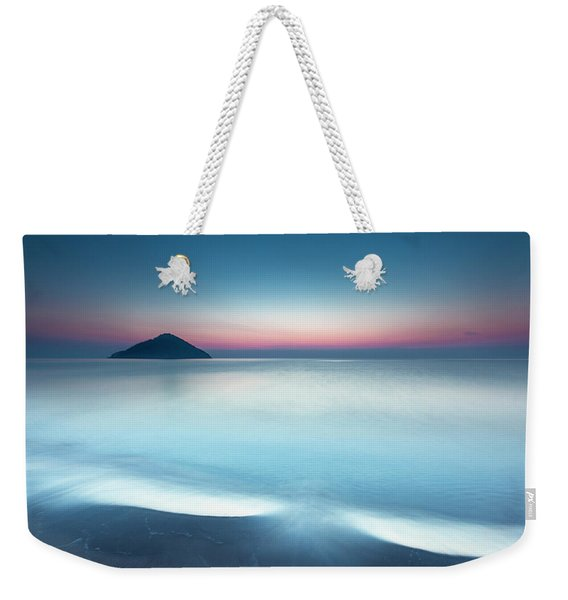 Triangle Island Weekender Tote Bag