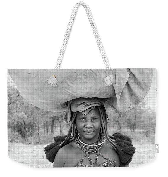 Tribes Portrait Weekender Tote Bag