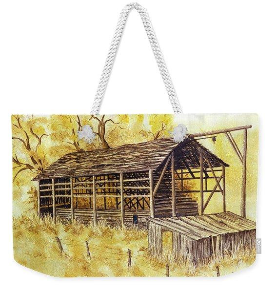 Trickle Bridge Barn Weekender Tote Bag