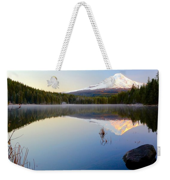 Trillium At Dawn Weekender Tote Bag