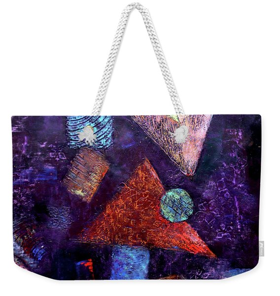 Trio Triangles  Weekender Tote Bag