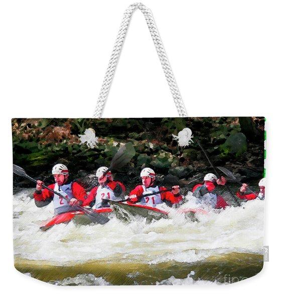 Triple Crown-21 Weekender Tote Bag