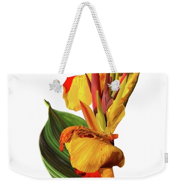 Tropical Bouquet-flower One Weekender Tote Bag