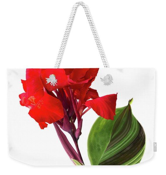 Tropical Bouquet-flower Three Weekender Tote Bag