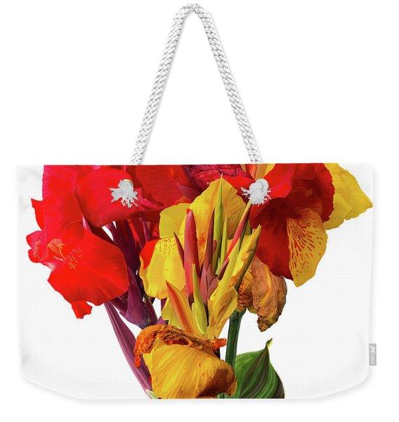 Tropical Bouquet Weekender Tote Bag
