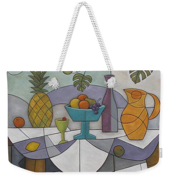 Tropical Delights Weekender Tote Bag