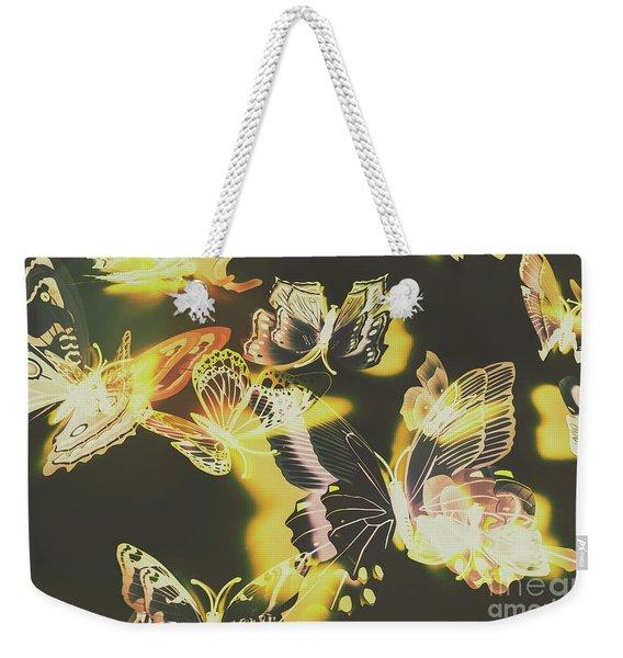 Tropical Glow Weekender Tote Bag