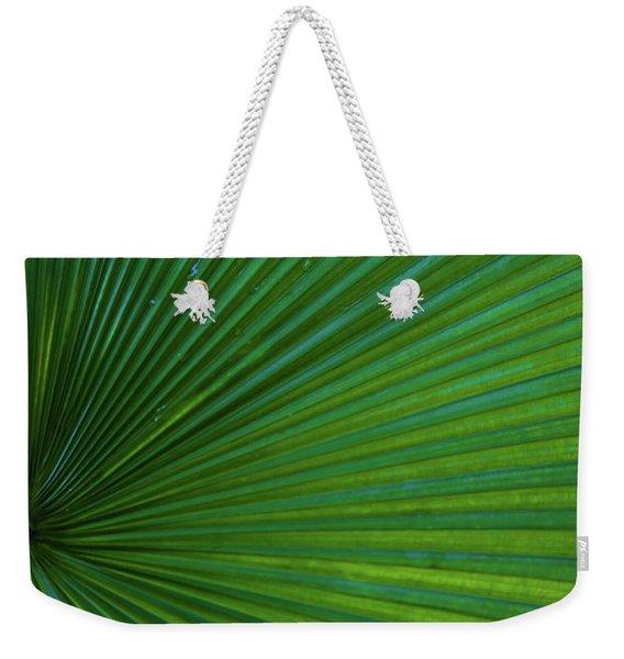 Tropical Leaf Weekender Tote Bag