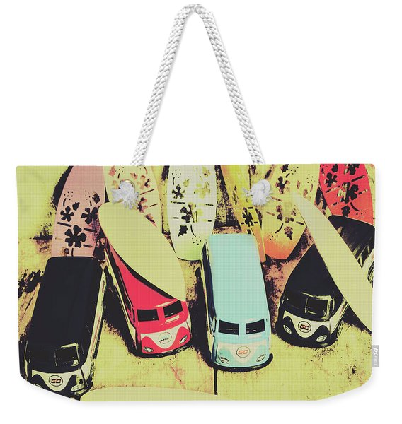 Tropical Trippers 1960 Weekender Tote Bag