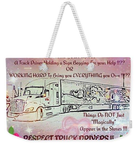 Trucking, The Heart Of America Weekender Tote Bag