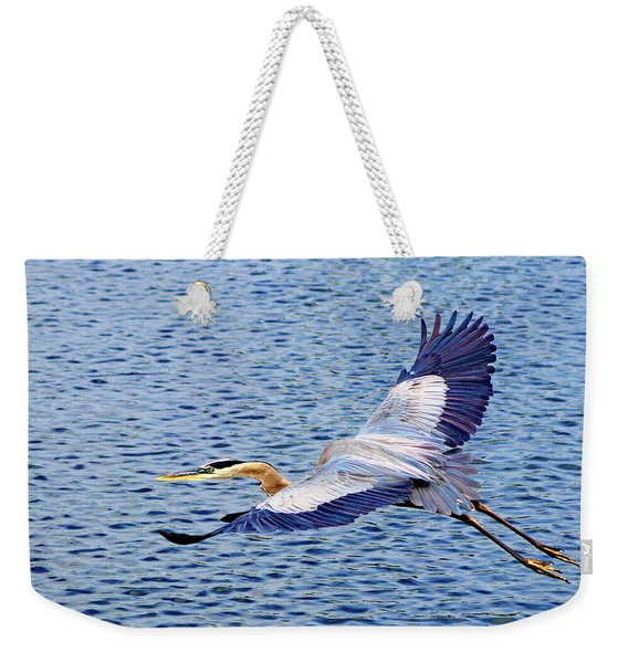True Blue #3 Weekender Tote Bag