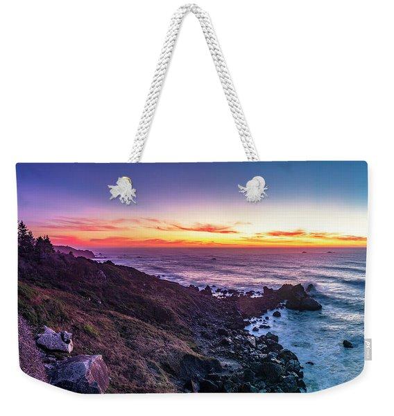 True Love By The Solstice Sunset Weekender Tote Bag