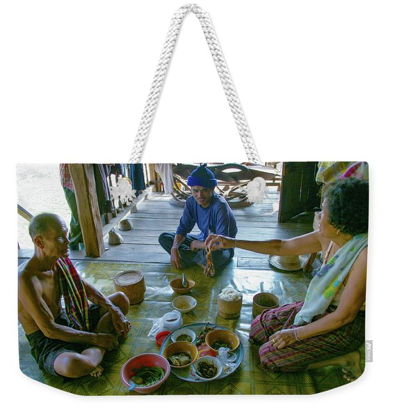 Try This Rat Its Delicious Weekender Tote Bag