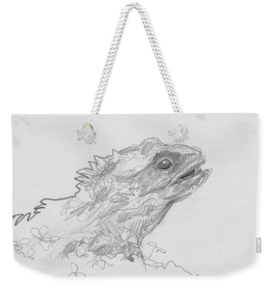 Tuatara Weekender Tote Bag