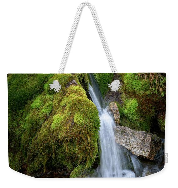 Tufteelvi, Norway Weekender Tote Bag