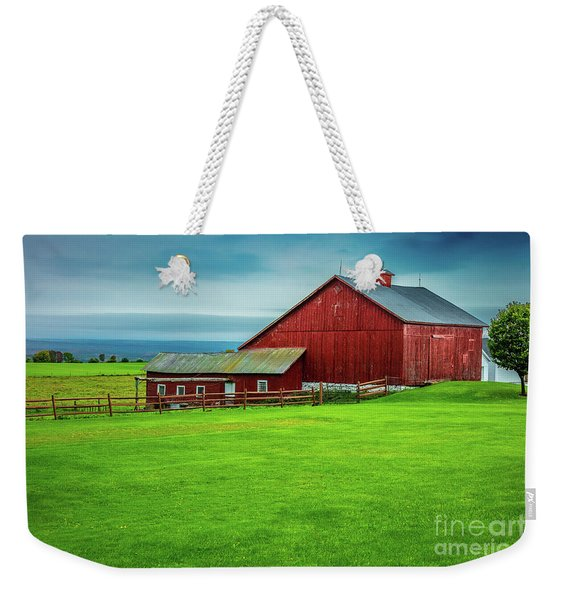 Tug Hill Farm Weekender Tote Bag