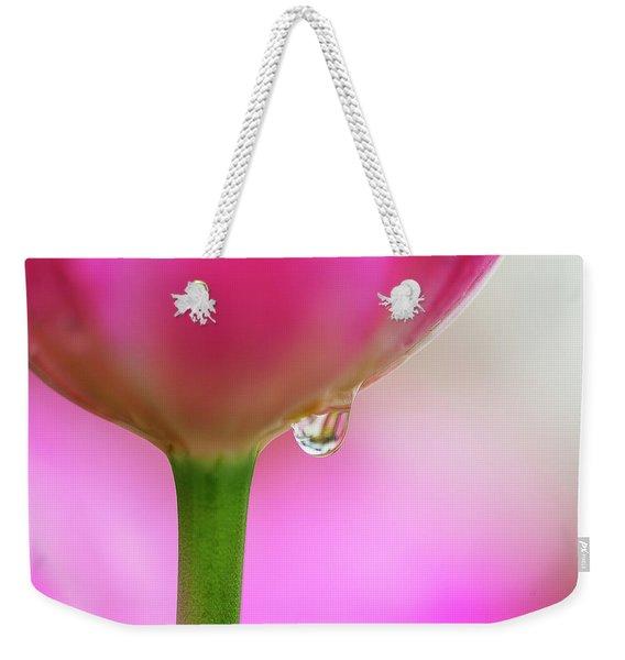 Tulip Drop Weekender Tote Bag