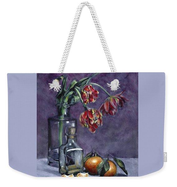 Tulips And Oranges Weekender Tote Bag