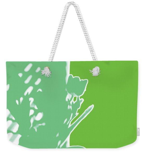 Tulips Six Spring Green Weekender Tote Bag