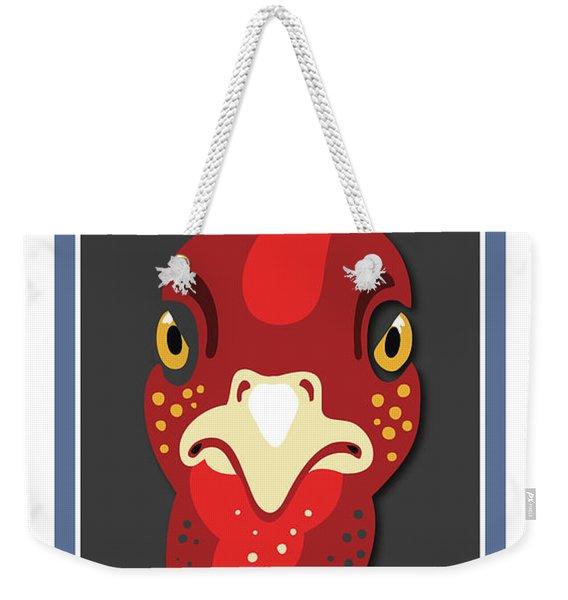Turkey Stare Jp Weekender Tote Bag