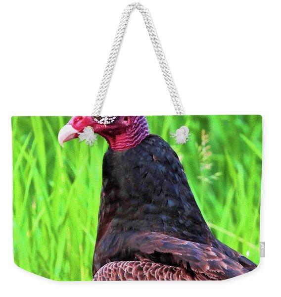 Turkey Vulture Weekender Tote Bag