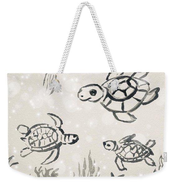 Turtles Weekender Tote Bag