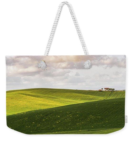 Tuscan Landscapes. Hills In The Spring Weekender Tote Bag