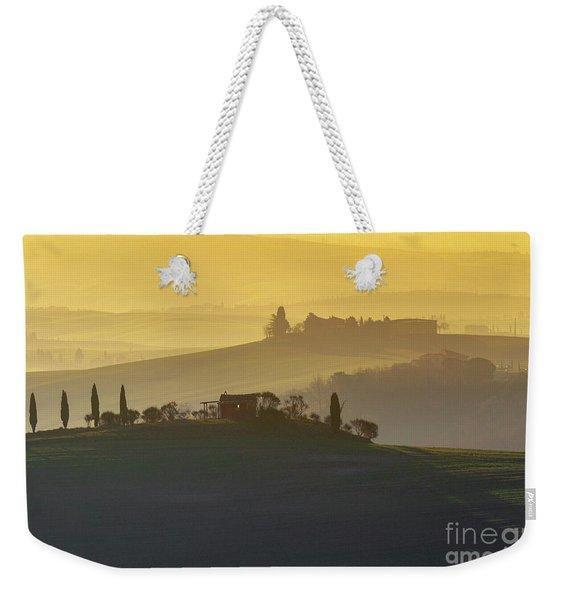 Tuscan Rolling Farmland Weekender Tote Bag