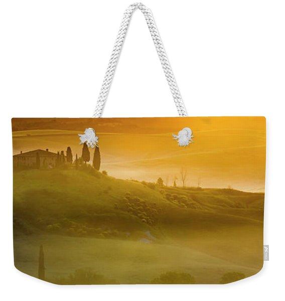 Tuscany In Gold Weekender Tote Bag
