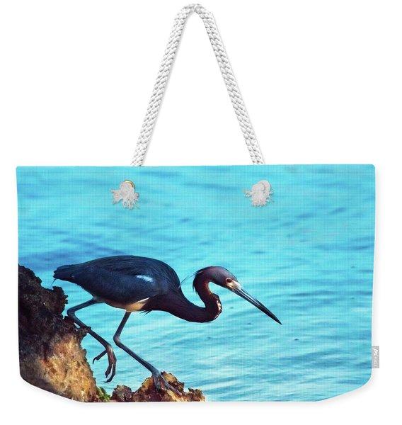 Twilight Blues Weekender Tote Bag