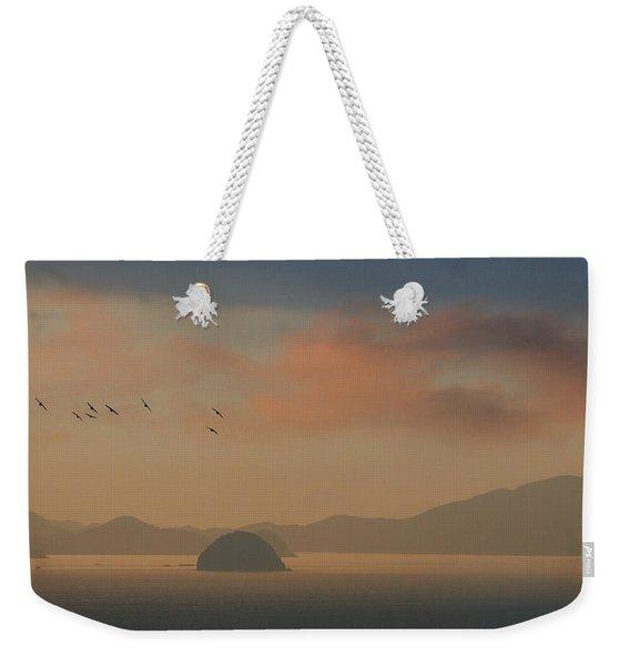 Twilight Calm Weekender Tote Bag