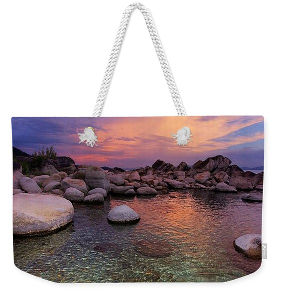 Twilight Canvas  Weekender Tote Bag