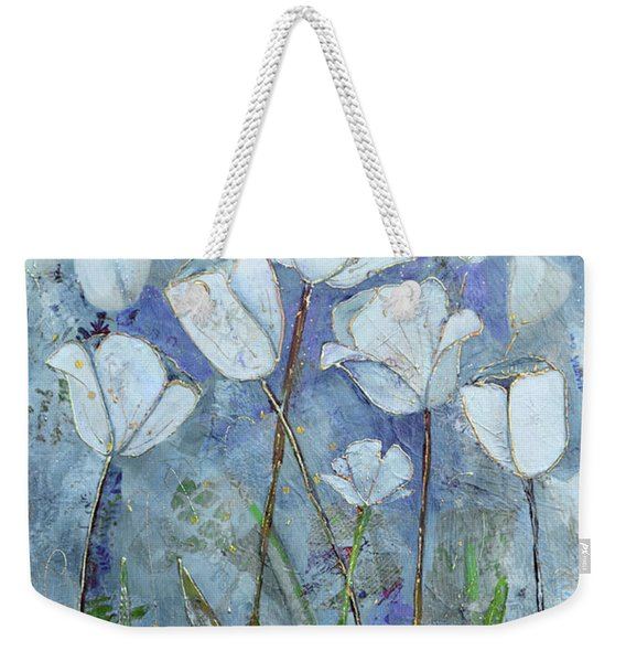 Twilight Tulips Weekender Tote Bag