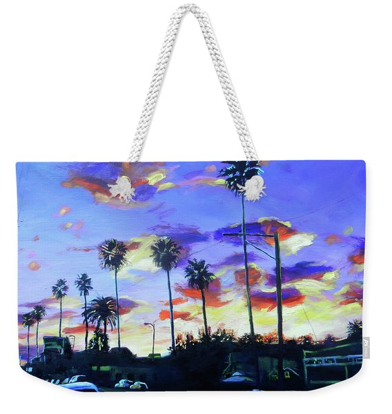 Twilight At Figueroa And 40th  Weekender Tote Bag