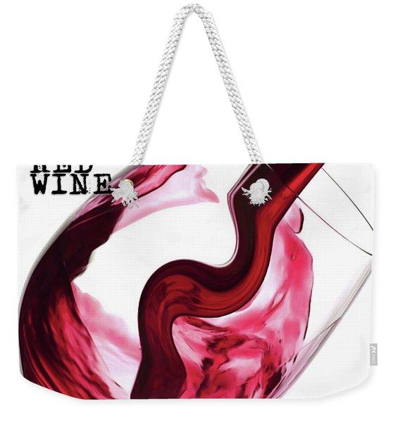 Twisted Flavour Red Wine Weekender Tote Bag