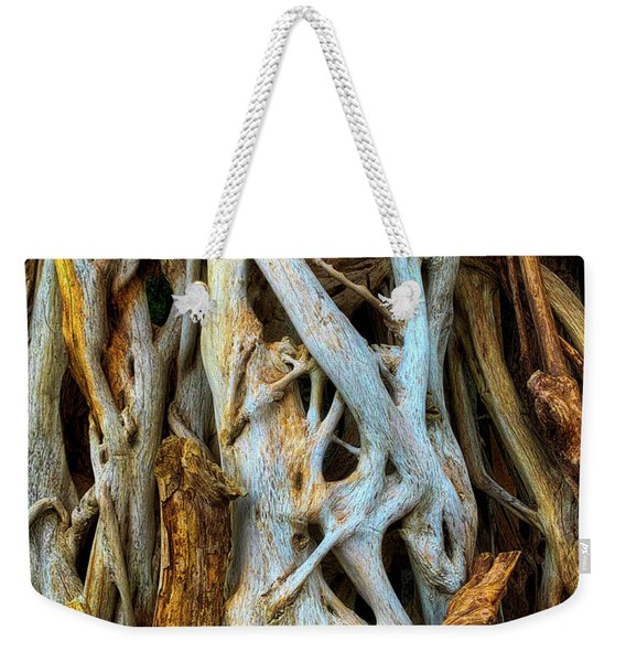 Twisted Tree Limbs Weekender Tote Bag