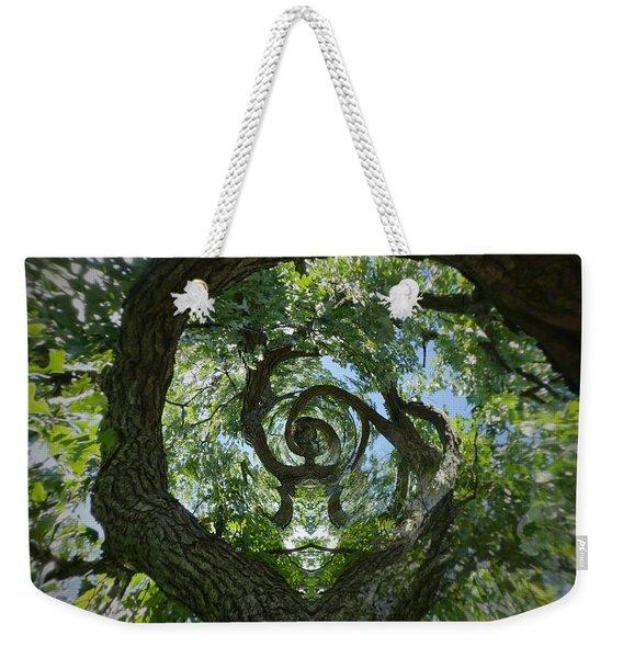 Twisted Tree Weekender Tote Bag