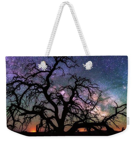 Twisted Universe Weekender Tote Bag