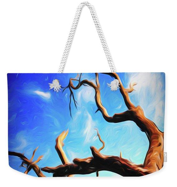 Twisty Tree Weekender Tote Bag