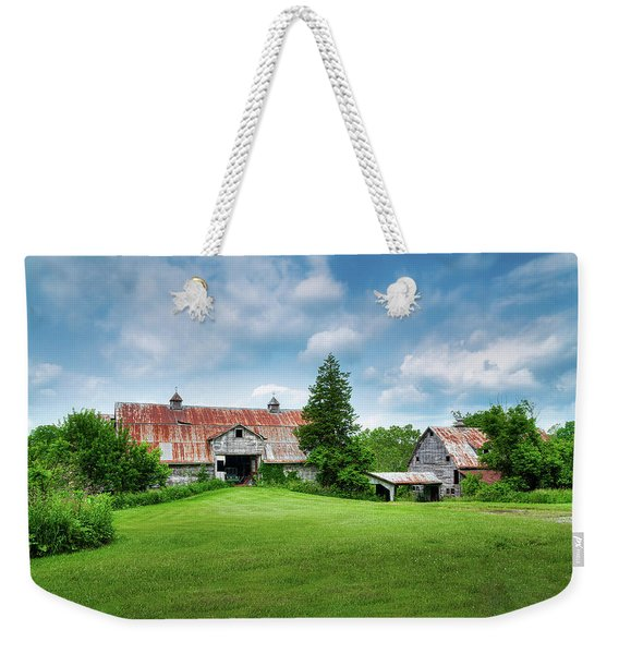 Two Old Barns Weekender Tote Bag