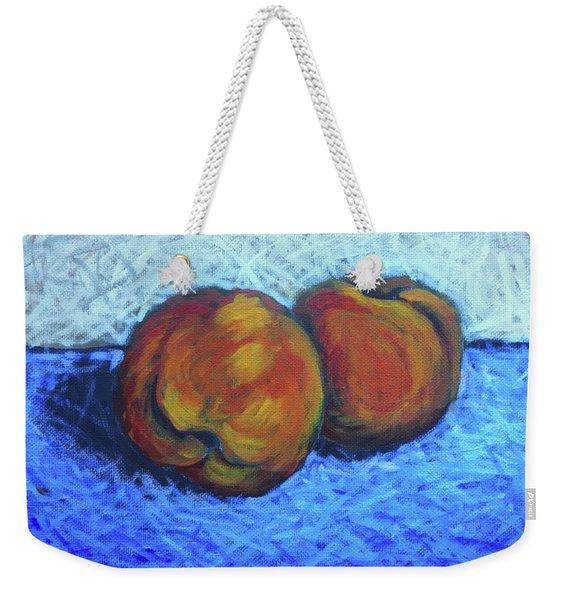Two Peaches Weekender Tote Bag